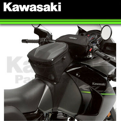 Genuine Kawasaki 2008-2018 Klr650 Trans Tank Bag Storage Pouch Black K57003-116