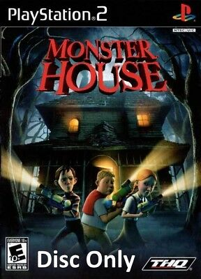 Monster House (Sony PlayStation 2, 2006) Disc Only