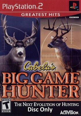Cabela's Big Game Hunter Greatest Hits (Sony PlayStation 2, 2002) Disc Only