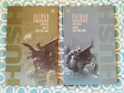 Batman Hush Volume 1 And 2 By Jeph Loeb Scott Williams 2000