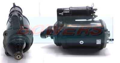 BRAND NEW STARTER MOTOR 12V 10 TOOTH DRIVE 2.8kW C/W LUCAS M127 TYPE PLANT APPS