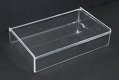 SCATOLA IN PLEXIGLASS CON COPERCHIO - (f.to cm 26.6 x 17,1 x 6)
