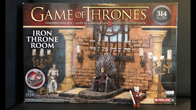 Game of Thrones Iron Throne Room Building Sets Mc Farlane Toys Neu OVP MISB