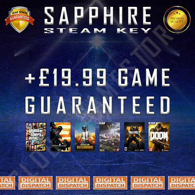 Sapphire Premium Random Steam Keys Key Game GAMES (Guaranteed +£19.99 GAME)
