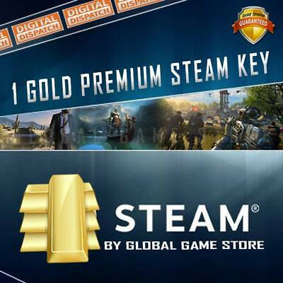 GOLD Premium Random Steam Keys Key Game GAMES (Guaranteed +£9.99 GAME)