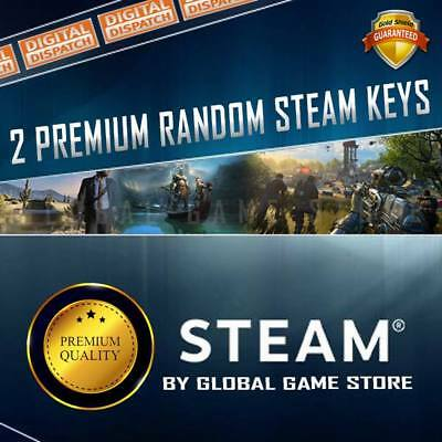 x2 Premium Random Steam Keys Key Game GAMES
