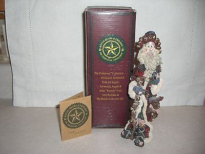 Boyds, Na-Nick Of The North, 2804, Santa Claus Folkstone Collection Retired 1999