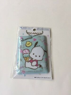 Sanrio Pochacco Light Blue Ice Cream Luggage Tag, Card Holder New 2018 China