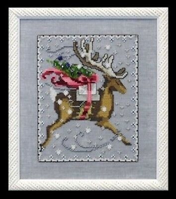 Comet Christmas Eve Couriers Nora Corbett Mirabilia Cross Stitch Pattern