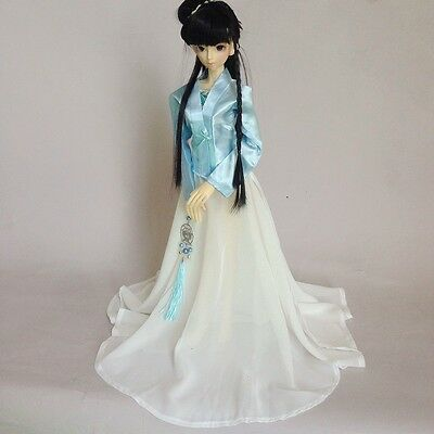 [wamami] 699# Blue And White Chinese Classical Costumes/clothing 1/4 MSD DZ Aod