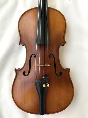 Very Nice Old Vintage 4/4 Full Size Violin Without Damaging - App Year 1950