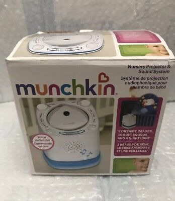 Munchkin Nursery Projector And Sound System Baby Soother New