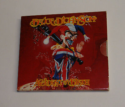 Bruce Dickinson - Accident of Birth CD mit Poster 1997 Duellist Enterprises Ltd.