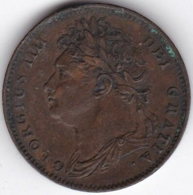 1821. George IIII Farthing | Coins | Pennies2Pounds