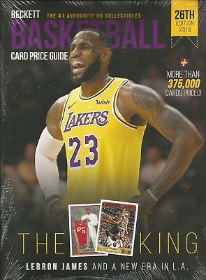 2019 Beckett Basketball Card Annual Price Guide - 26th Edition - $29.95 SRP