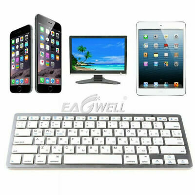 "HOT For iPad 6th Generation 9.7"" 2018 Ultra Slim Wireless Bluetooth 3.0 Keyboard"