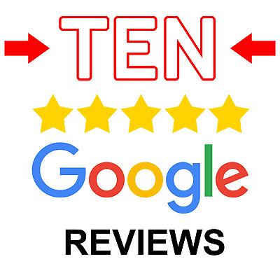 TEN Google Reviews for UK Small Business - 7-14 Days - From UK Accounts +QUALITY