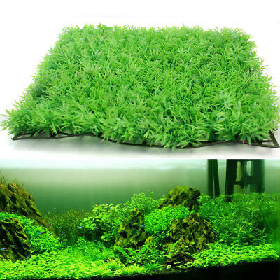 Artificial Water Aquatic Green Plant Lawn Aquarium Fish Tank Landscape Ornaments