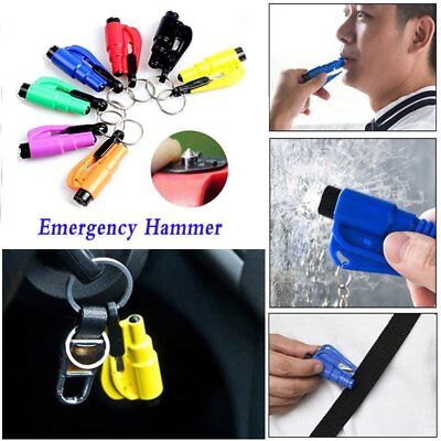 Emergency Escape Tool Auto Car Window Glass Hammer Breaker and Seat Belt Cutter