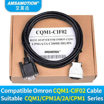 Programming Cable CQM1-CIF02 For Omron CPM1A/2A/CPM1AH/CQM1/C200HS/C200HX PLC