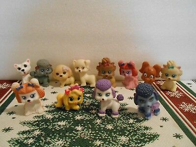 DOLLHOUSE MINIATURES DOGS,  PETS, ANIMALS,  12 dogs