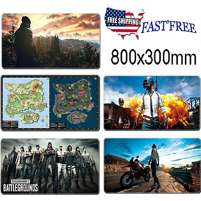 NEW Extended Gaming Mouse Pad Extra Big Large Size Desk Keyboard Mat 800*300mm