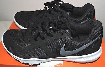 0403e6e1c675 Nike Flex Control II Black Metallic Cool Grey Size 8.5 Shoes Men s Training