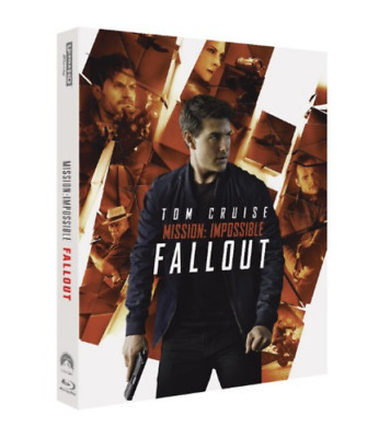 """ MISSION IMPOSSIBLE : FALL OUT  "" Blu-ray 4K STEELBOOK (BD+4K UHD+BONUS DISC)"