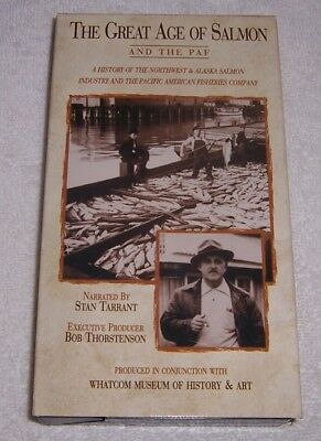 The Great Age of Salmon and the PAF VHS Video Alaska fishing industry