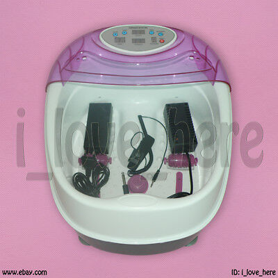 Pro Ionic Detox Detoxification Cell Cleanse Ion Foot Spa Bath Tub CE Approved