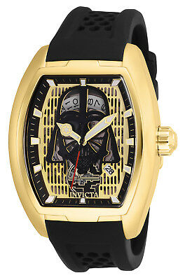 Invicta Men's 26941 'Star Wars' Darth Vader Automatic Black Silicone Watch