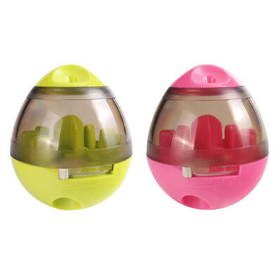 Interactive Pet Food Dispenser Treat Toy For Dog Cat Play Ball Increases IQ
