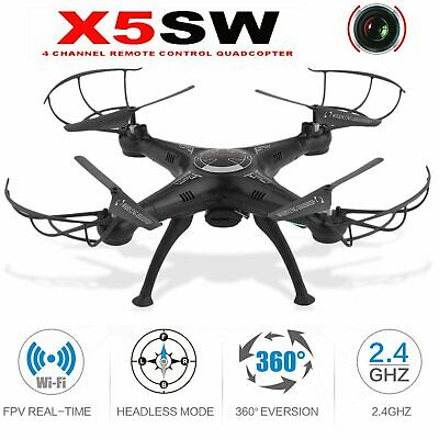 Drone X5SW1 Wifi FPV UAV 2.4Ghz 4CH RC Camera Drohne with 0.3MP Quadcopter