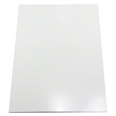 Gloss White Flexible A4 Magnetic Sheet (297 x 210 x 0.85mm) (Pack of 40)