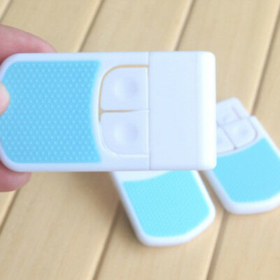 Adhesive Child Kids Baby Cute Safety Lock For Door Drawers Cupboard Cabinet AU