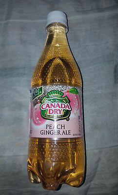 Limited Edition Japanese CANADA DRY peach ginger ale from Japan US SELLER!