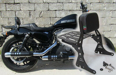 Schienalino Roadster 1200 Sissy Bar Con Portapacchi Harley Sportster Schienale