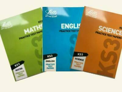 ks1 maths & english leap ahead home learning workbooks set of 2 ages 6-7 years