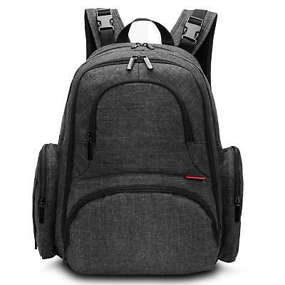 Baby Nappy Diaper Backpack Multi-functional Travel Knapsack Include Changing Pad