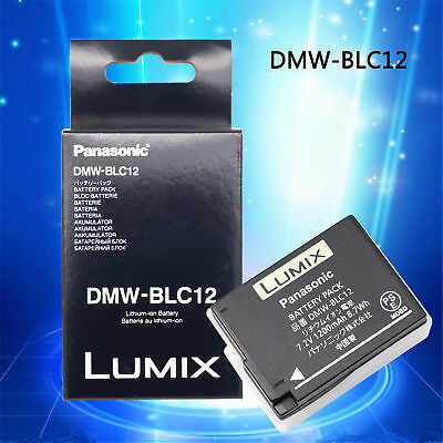 Genuine Original Panasonic DMW-BLC12E DMW-BLC12 DMW-BLC12PP Battery For G6 FZ200