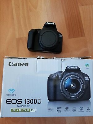 Canon EOS 1300D Kit EF-S 18-55 + EF 75-300 Digitalkamera