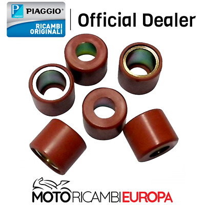 Kit 6 Rulli Originale Piaggio 849480 Beverly Ie Abs E4 300 2016