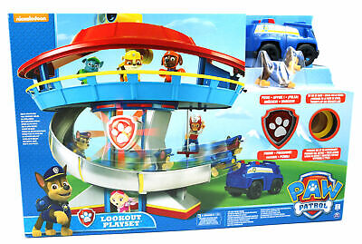 Paw Patrol Lookout Hauptquartier Headquarter Zentrale Spinmaster inkl. Chase