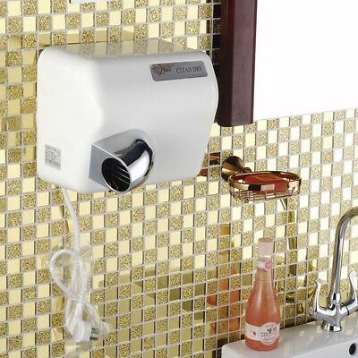 2300W Wall Mounted Electric Automatic Hand Dryer Heavy Duty High Speed Dryer AU