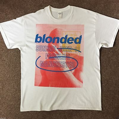Frank Ocean Blonded Merch t shirt size S M L XL 2XL