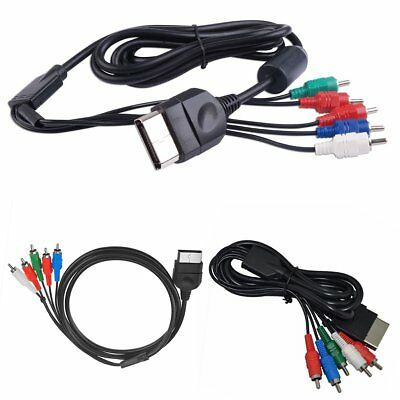 HD Component AV Cable TV RCA Audio Video Cord VGA for Original Microsoft XBOX