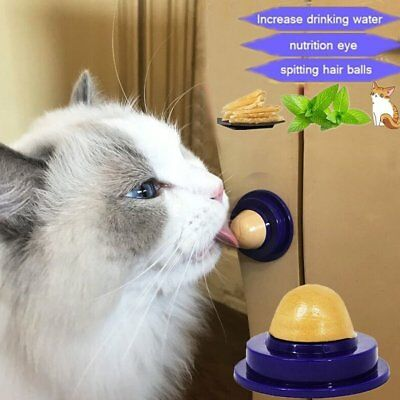 Cat Catnip Snacks Catnip Healthy Candy Licking Energy Ball Kittens Cat Toys