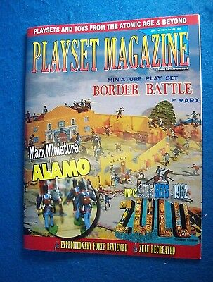 Playset magazine #85 Marx Border Battle ,MPC dealer catalogs1962 + more