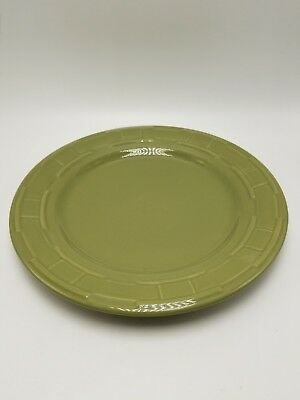 "Lobgaberger ""Woven Traditions Sage"" Dinner Plate 10"""