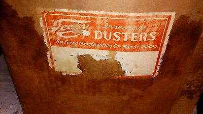Vintage Feeny Insecticide Unico Duster